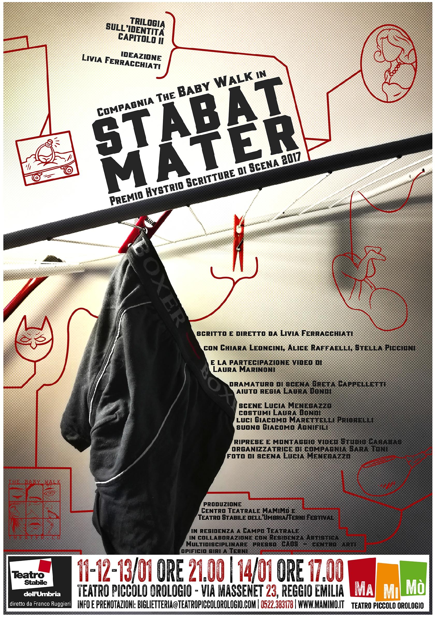 Stabat Mater al Teatro Piccolo Orologio