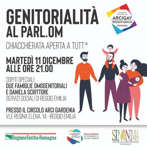 Genitorialità al Parl.om – 11 dicembre